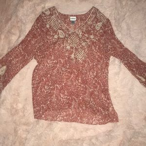 Chico's Long Sleeve Blouse